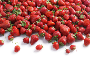 Fresh strawberry background. Close up, high resolution product. Harvest concept