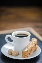 morning coffee shot on board