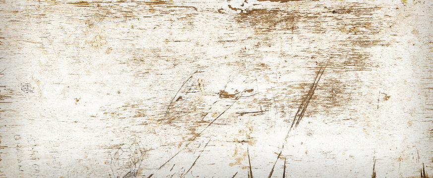 Grunge background from dirty shabby white board