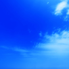 Beautiful Blue Sky Background Template - Cloudy blue sky abstrac