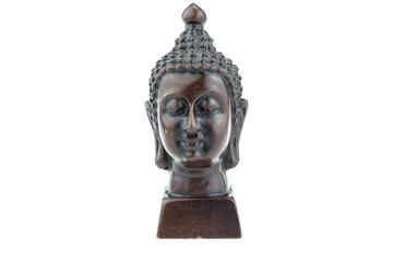 Buddha statue head.