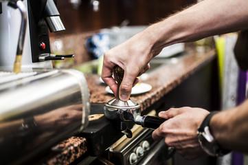 chicchi di caffè per miscela dolce