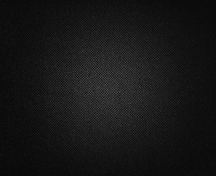 black background with canvas or linen style macro weave pattern, elegant luxury background design