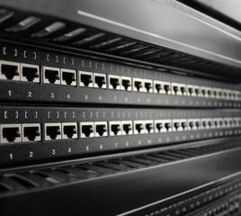 Network RJ-45 patch panel