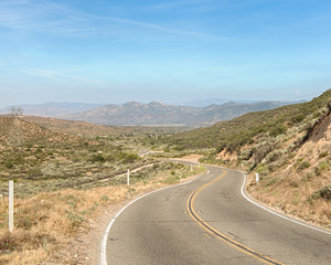 Route 66: Cajon Pass, Angeles Crest Scenic Highway, Angeles National Forest, CA
