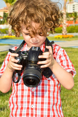 Small child photographer