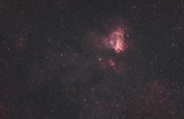 Omeganebel, Emissionsnebel im Nordteil des Sternbilds Schütze.