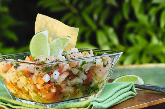 Mexican Style Ceviche