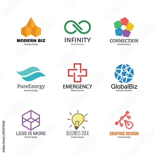 Abstract Logo Templates  Abstract Logos