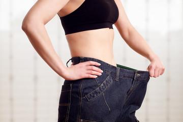 Abnehmen Frau Diät