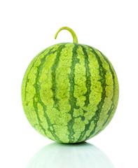 Water melon on white