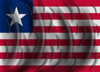 liberia wind flag