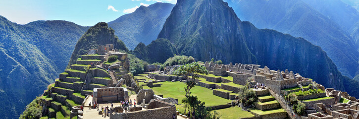 Machu Picchu - sacred town of an Inca empire