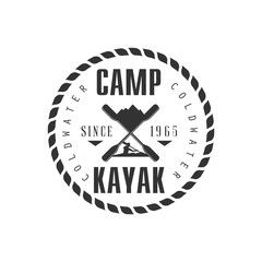 Camp KAyak Emblem Design