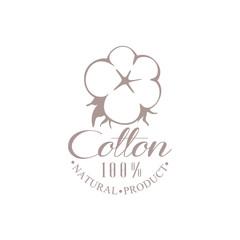 Quality Cotton Product Logo Design