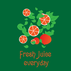 Fresh juice everyday