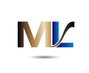 Letter M and L logo
