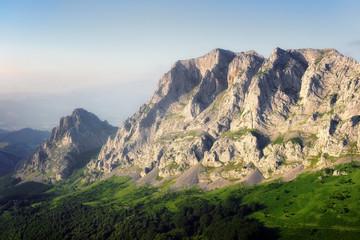 astxiki and alluitz mountains in Urkiola