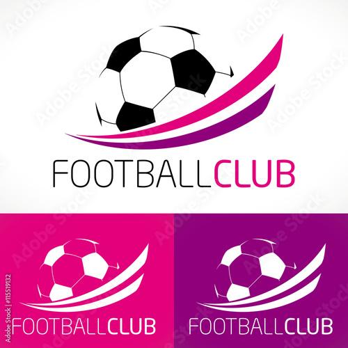 Logo football f minin club sport moderne fichier vectoriel libre de droits sur la banque d - Logo club foot bresil ...