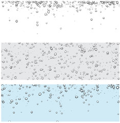 Backgrounds with bubbles.