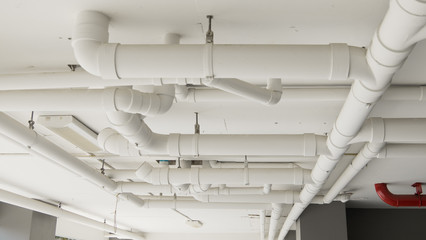Building drain pipe