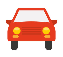 car vehicle isolated icon design