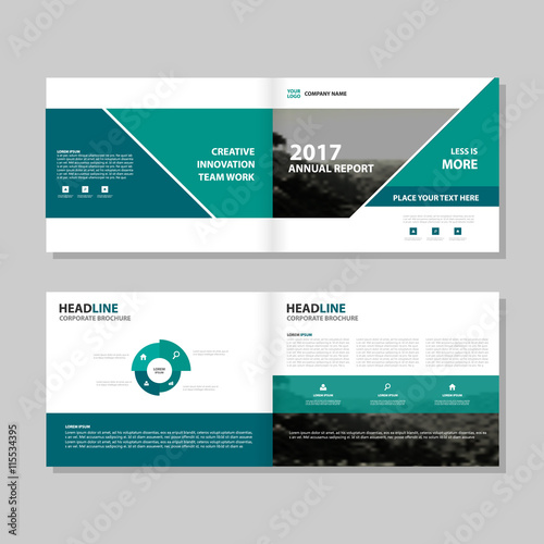 Green vector business proposal leaflet brochure flyer template green vector business proposal leaflet brochure flyer template design book cover layout design abstract cheaphphosting Images
