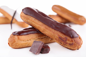 french eclair pastry