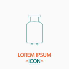 Suitcase computer symbol