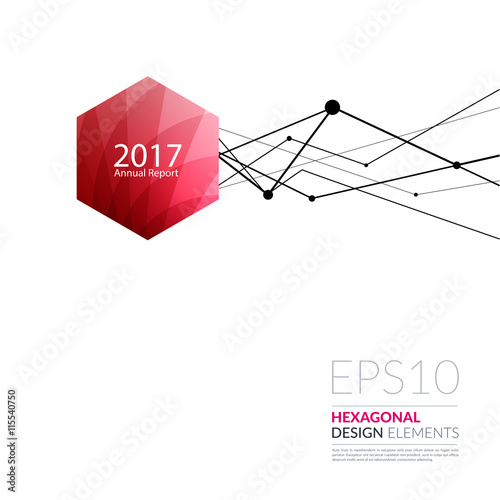 Vector design elements for graphic layout. Modern Abstract ...