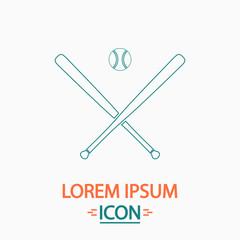 baseball computer symbol