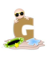 Alphabet Ocean Swimming G