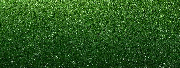 green glitter texture abstract banner background