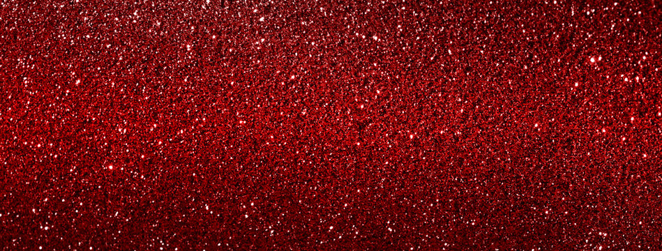 red glitter texture abstract banner background
