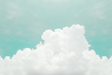 Retro sky and clouds, Soft & Blur for background