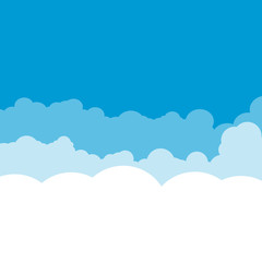 Cloud design. Weather icon.