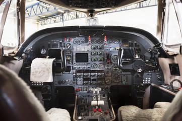 Sweden, Stockholm, Bromma, Bromma Airport, Airplane interior