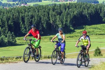 entspannte Radtour im Gebirge mit dem E-Bike