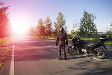 Motorcycle journey.