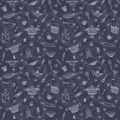 Seamless pattern - My kitchen 5