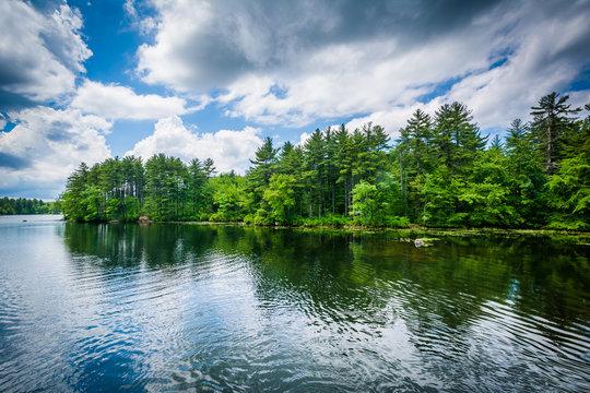 Massabesic Lake, in Manchester, New Hampshire.