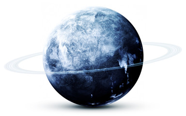 Wall Mural - Neptune - High resolution 3D images presents planets of the solar system. This image elements furnished by NASA