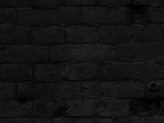 Black Bricks Texture