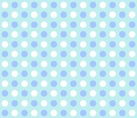 Punktemuster hellblau weiß