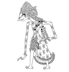 Search photos wayang kulit a character of traditional puppet show wayang kulit from java indonesia pronofoot35fo Gallery
