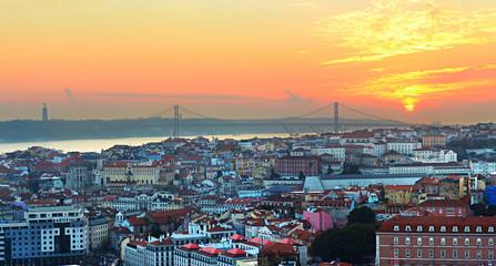 Lisbon overlooking, Portugal