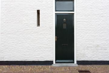 Hausfassade Haustür