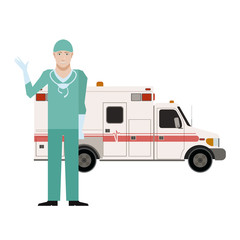 Ambulance and a Doctor