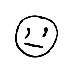 Emoticon smile logo, Hand drawn emoticon set, emoticon vector logo, outline logo emoticons, hand drawn emoji icon, emoticon logo, Emoticon emoji design, emoji vector logo