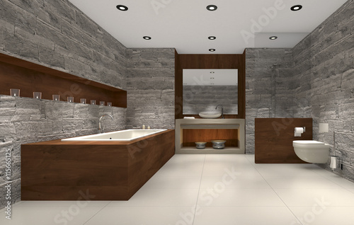 Badezimmer set holz mit aufsatzbecken home design for Badezimmer set holz